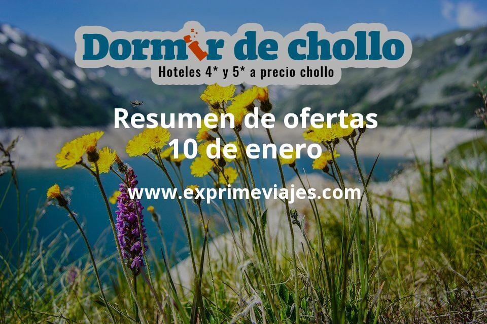 Resumen de ofertas de Dormir de Chollo – 10 de enero