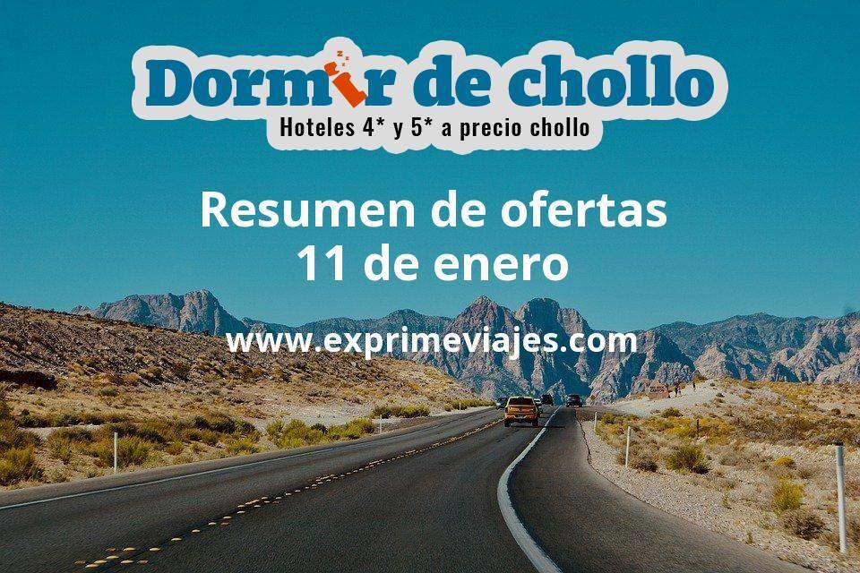 Resumen de ofertas de Dormir de Chollo – 11 de enero