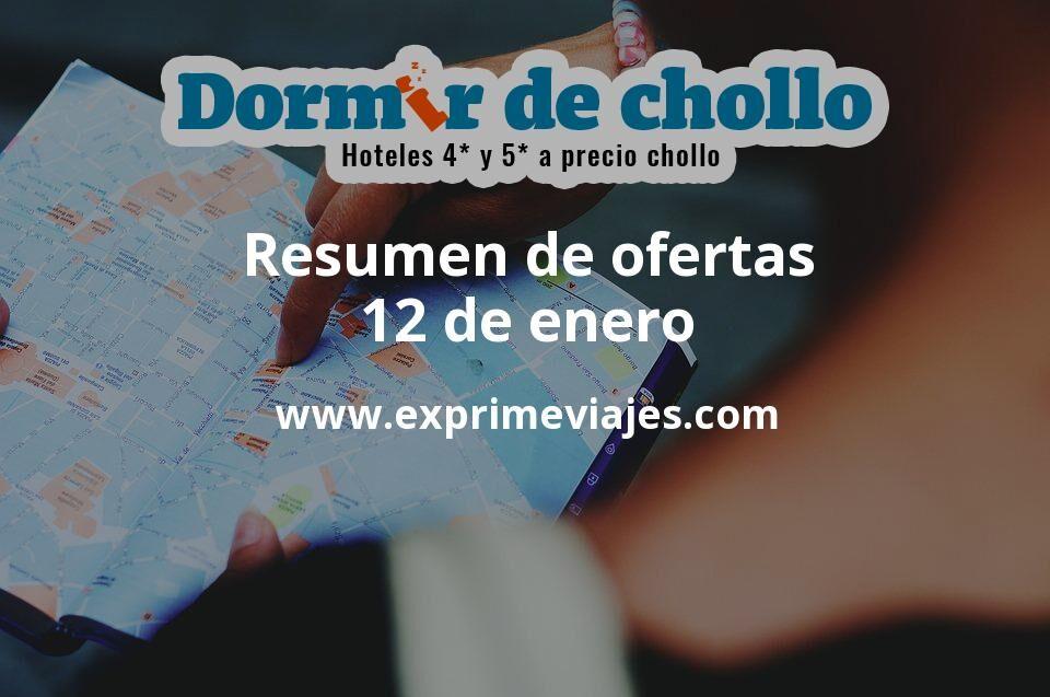 Resumen de ofertas de Dormir de Chollo – 12 de enero