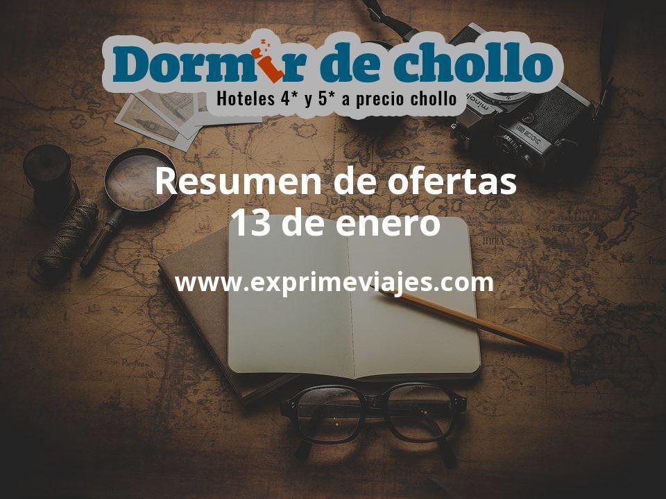 Resumen de ofertas de Dormir de Chollo – 13 de enero