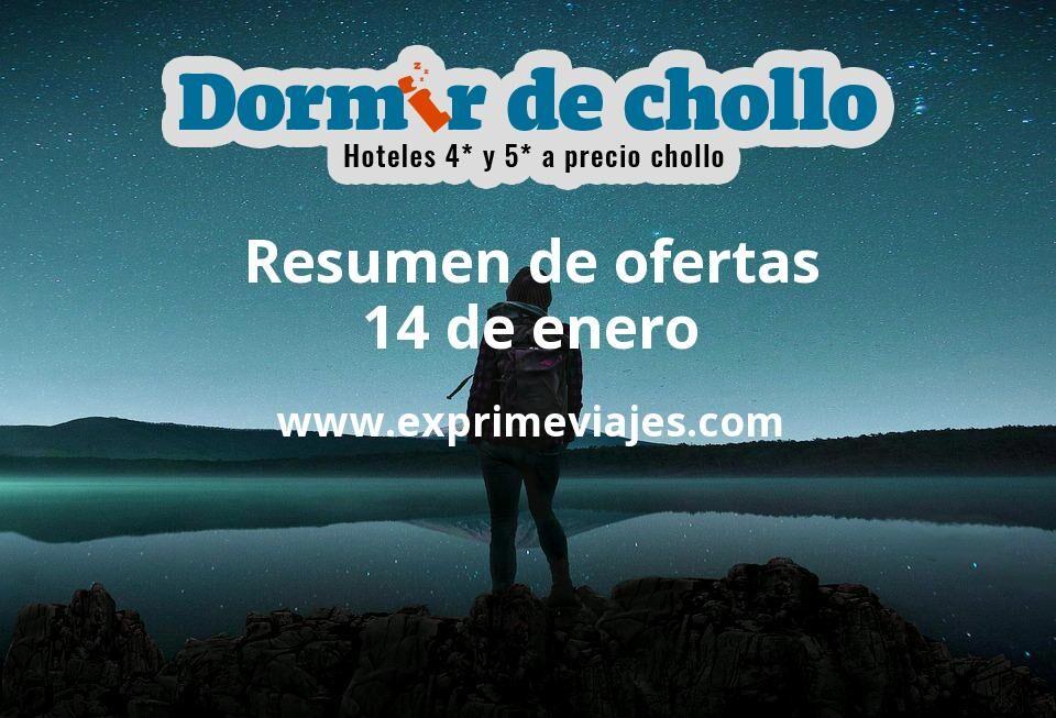 Resumen de ofertas de Dormir de Chollo – 14 de enero