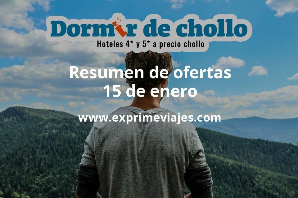 Resumen de ofertas de Dormir de Chollo – 15 de enero