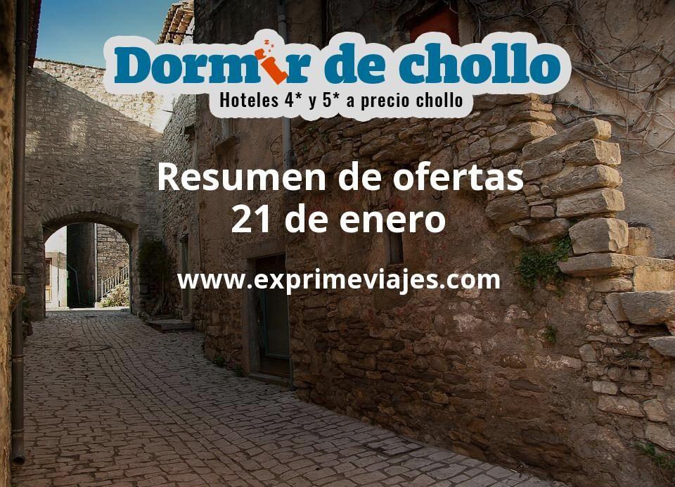Resumen de ofertas de Dormir de Chollo – 21 de enero
