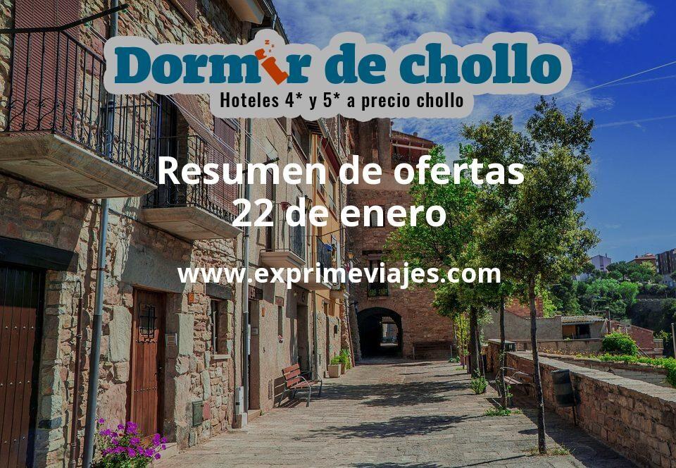 Resumen de ofertas de Dormir de Chollo – 22 de enero