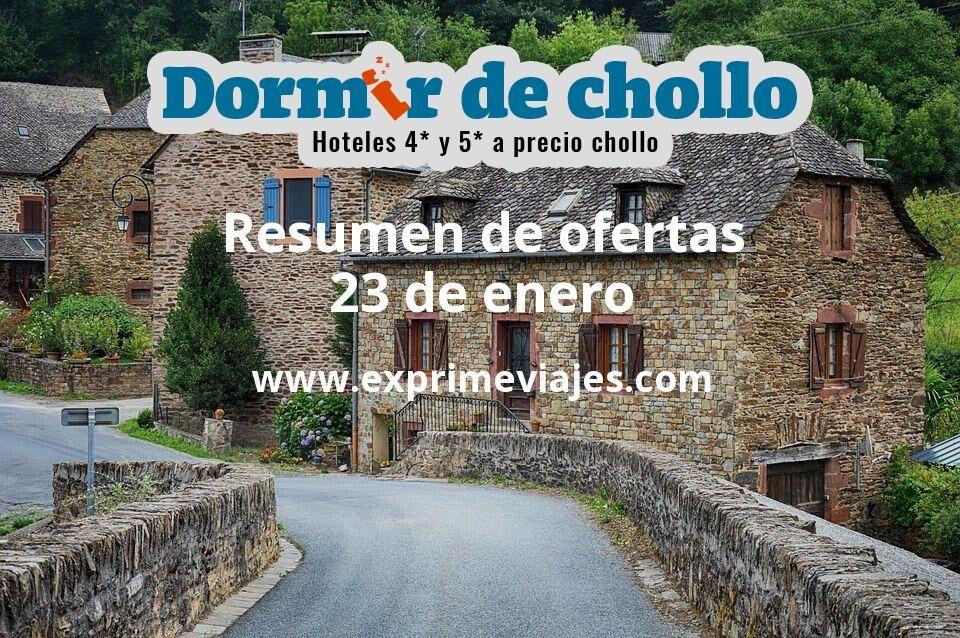 Resumen de ofertas de Dormir de Chollo – 23 de enero