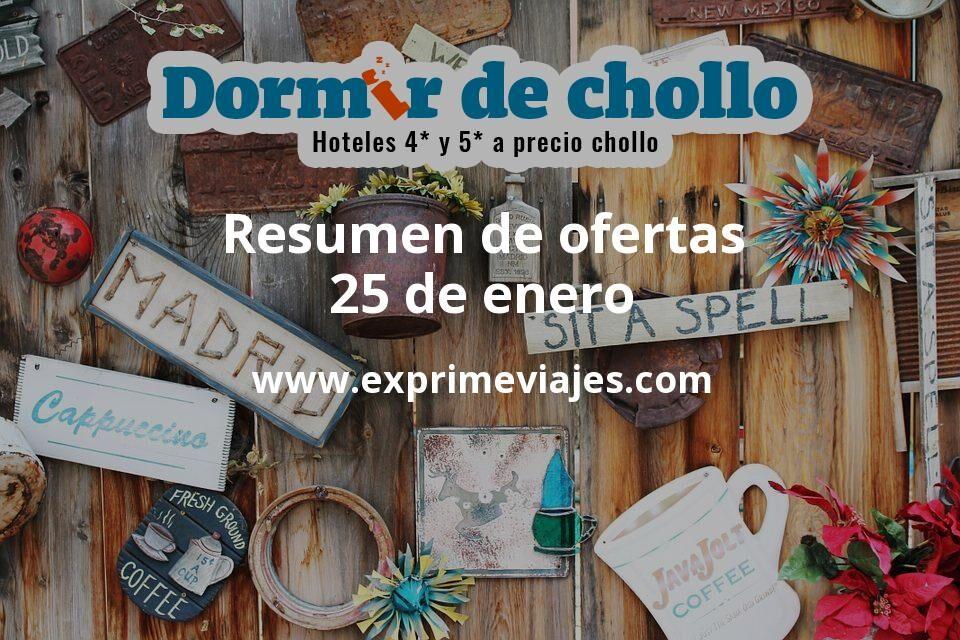 Resumen de ofertas de Dormir de Chollo – 25 de enero