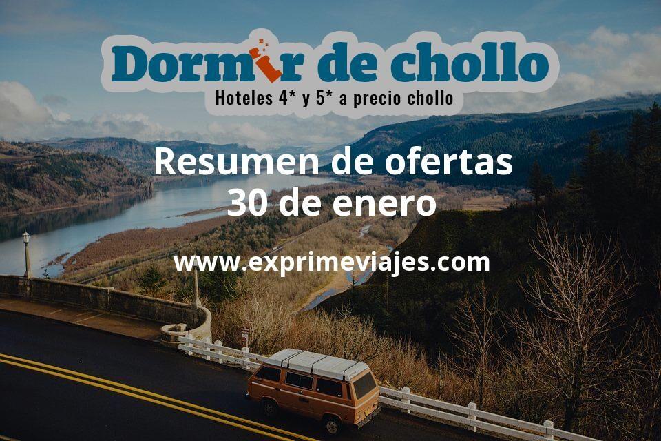 Resumen de ofertas de Dormir de Chollo – 30 de enero