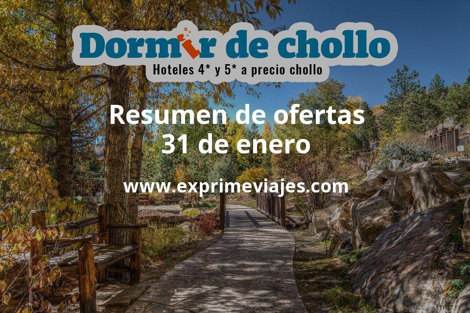 Resumen de ofertas de Dormir de Chollo – 31 de enero