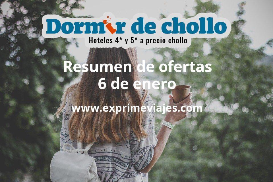 Resumen de ofertas de Dormir de Chollo – 6 de enero