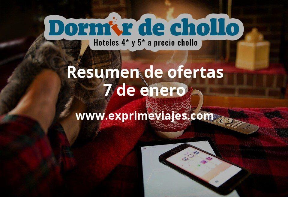 Resumen de ofertas de Dormir de Chollo – 7 de enero