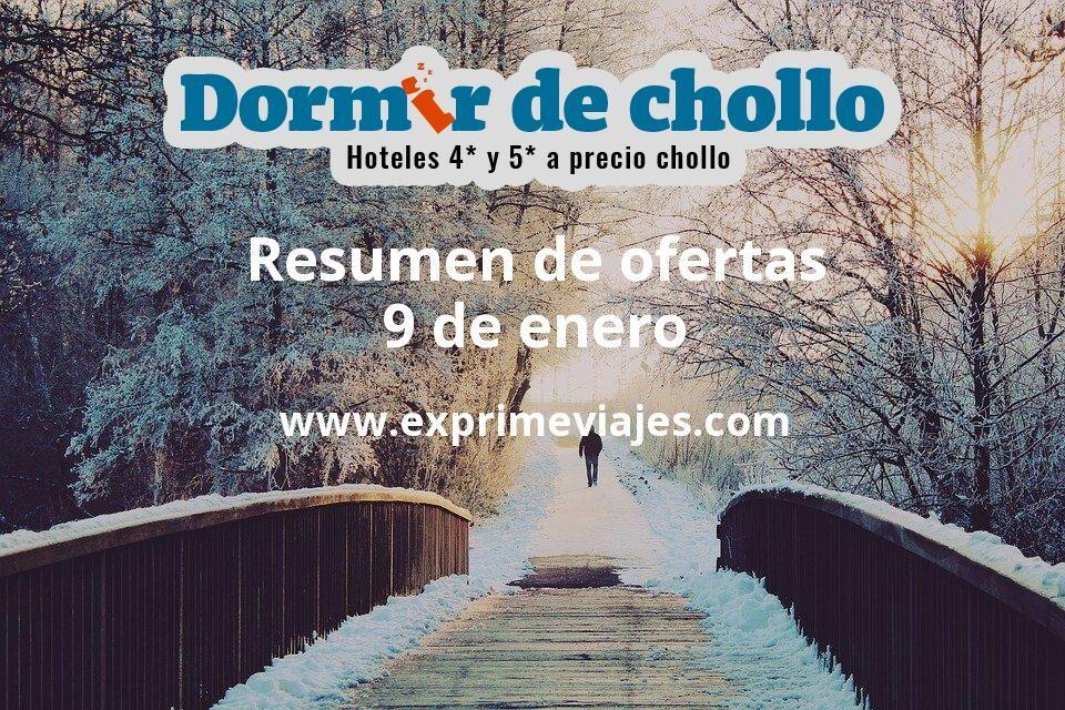 Resumen de ofertas de Dormir de Chollo – 9 de enero