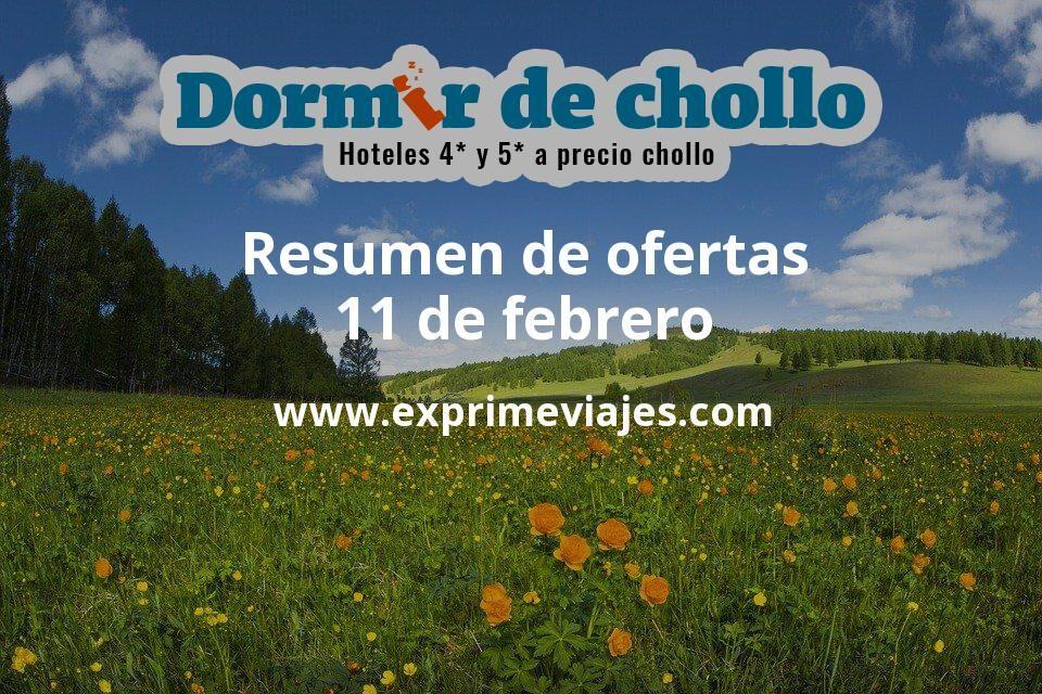 Resumen de ofertas de Dormir de Chollo – 11 de febrero