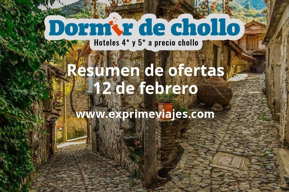 Resumen de ofertas de Dormir de Chollo – 12 de febrero