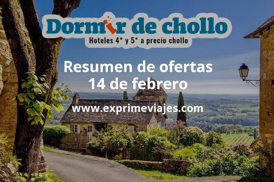 Resumen de ofertas de Dormir de Chollo – 14 de febrero