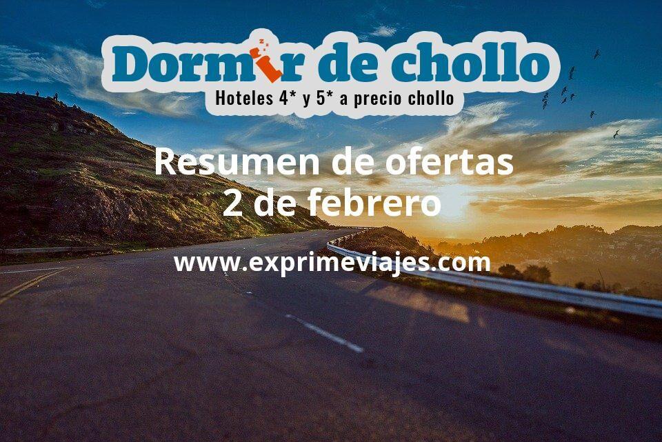 Resumen de ofertas de Dormir de Chollo – 2 de febrero
