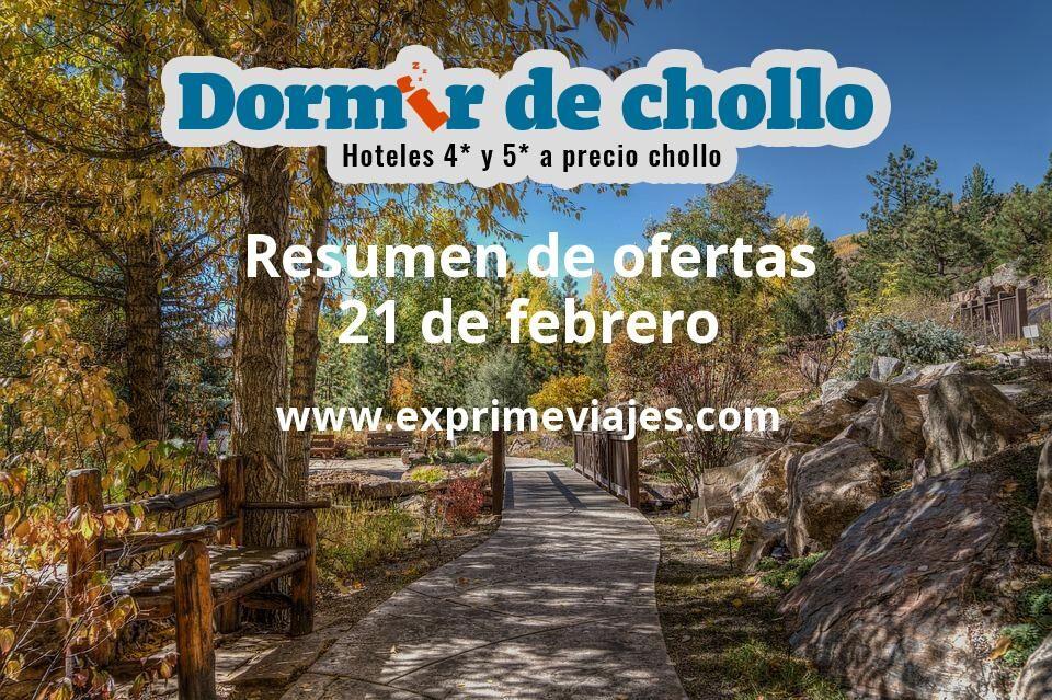 Resumen de ofertas de Dormir de Chollo – 21 de febrero