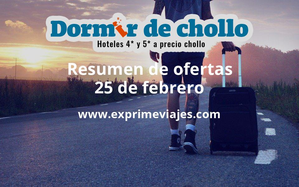 Resumen de ofertas de Dormir de Chollo – 25 de febrero