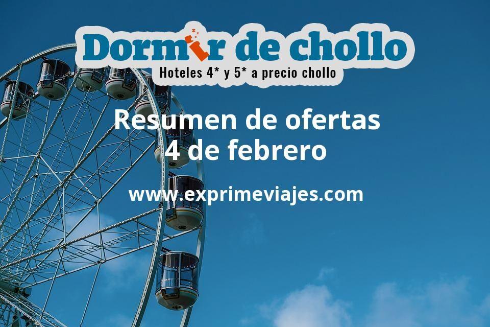 Resumen de ofertas de Dormir de Chollo – 4 de febrero