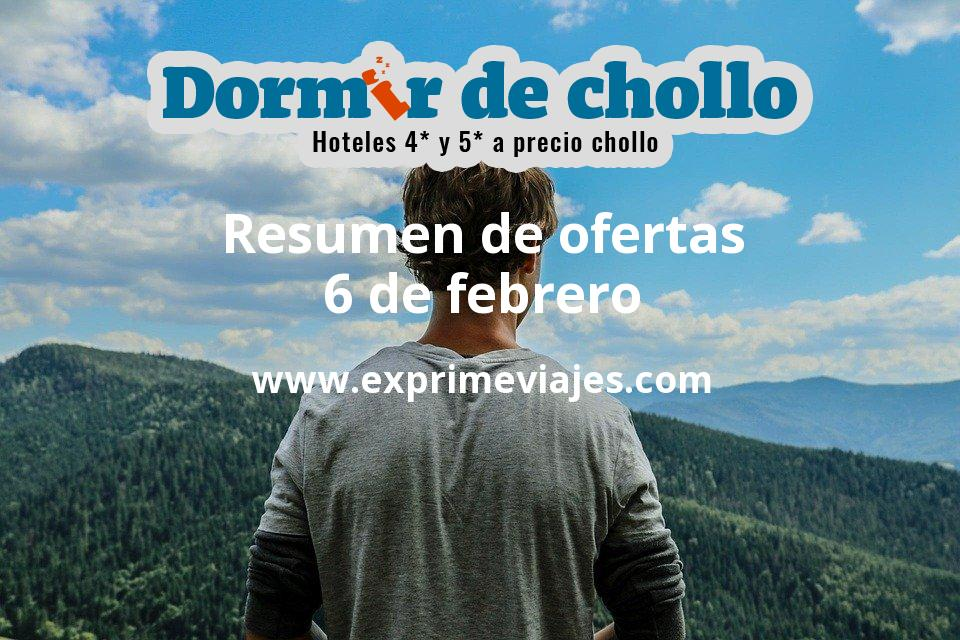Resumen de ofertas de Dormir de Chollo – 6 de febrero