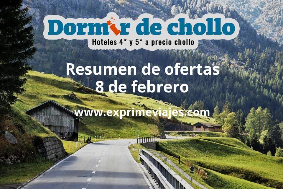 Resumen de ofertas de Dormir de Chollo – 8 de febrero