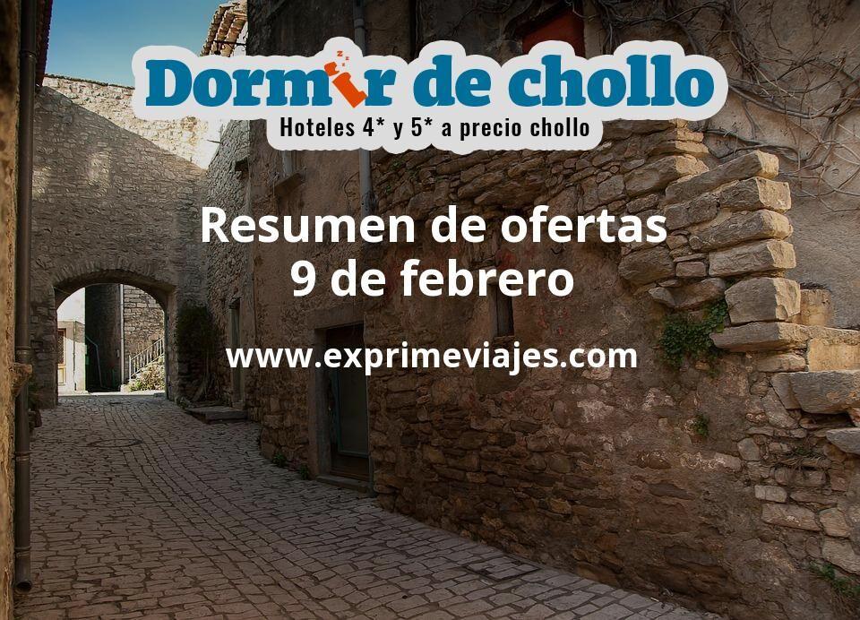 Resumen de ofertas de Dormir de Chollo – 9 de febrero