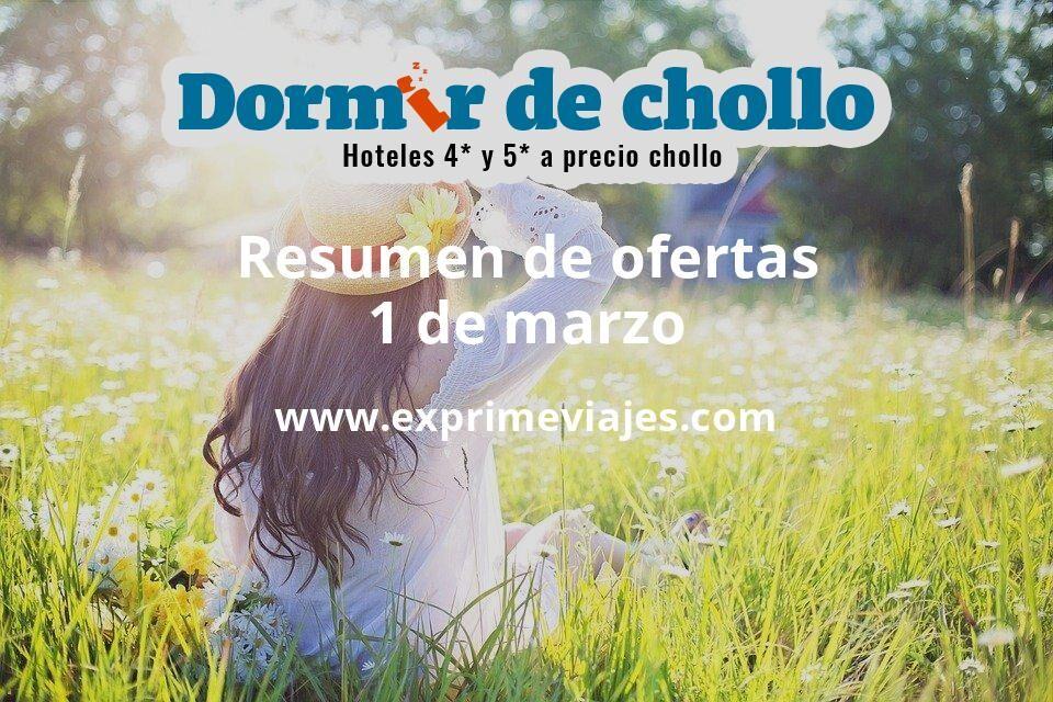 Resumen de ofertas de Dormir de Chollo – 1 de marzo
