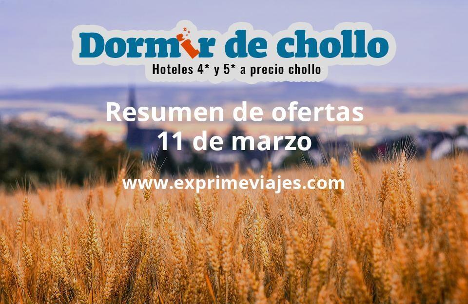 Resumen de ofertas de Dormir de Chollo – 11 de marzo