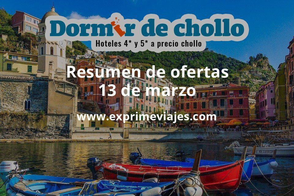 Resumen de ofertas de Dormir de Chollo – 13 de marzo