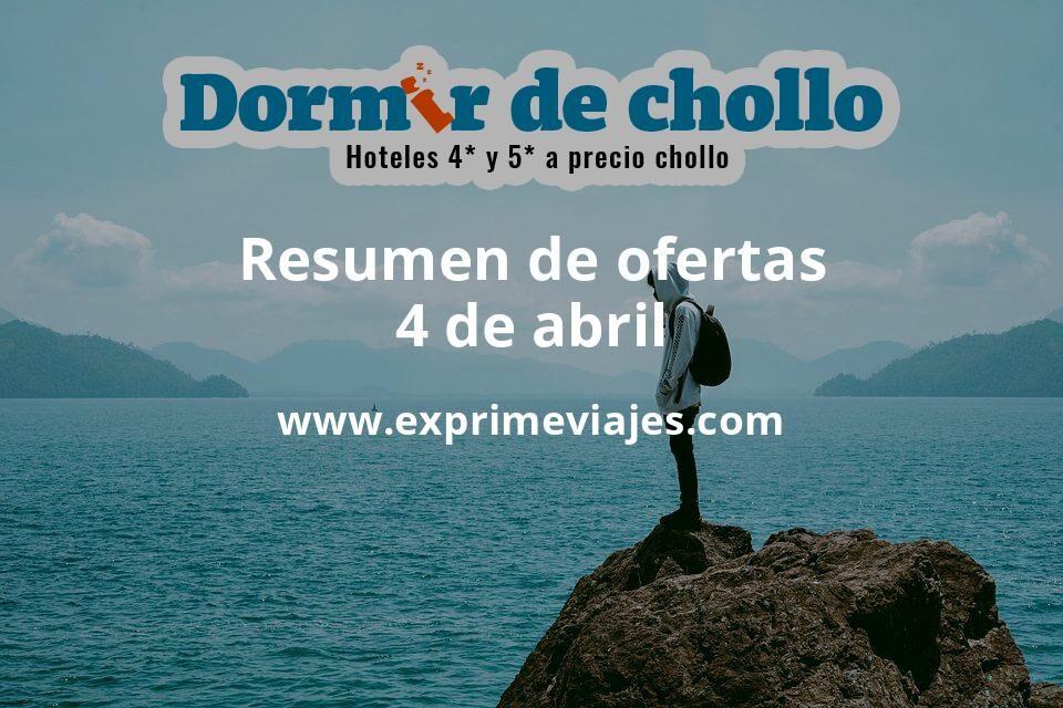 Resumen de ofertas de Dormir de Chollo – 4 de abril