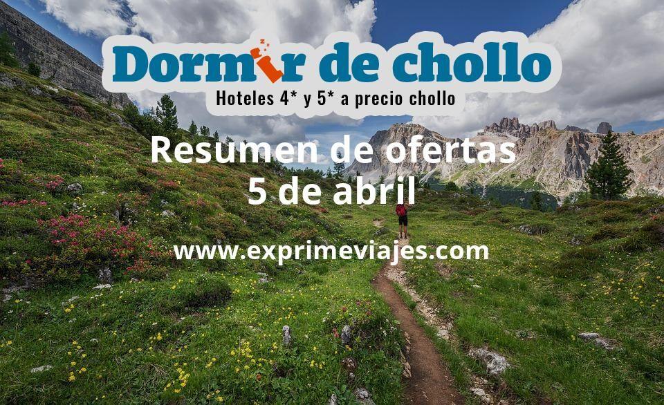 Resumen de ofertas de Dormir de Chollo – 5 de abril