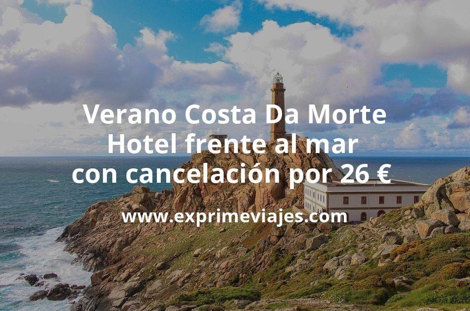 ¡Chollazo! Verano Costa Da Morte: Hotel frente al mar con cancelación por 26€ p.p/noche
