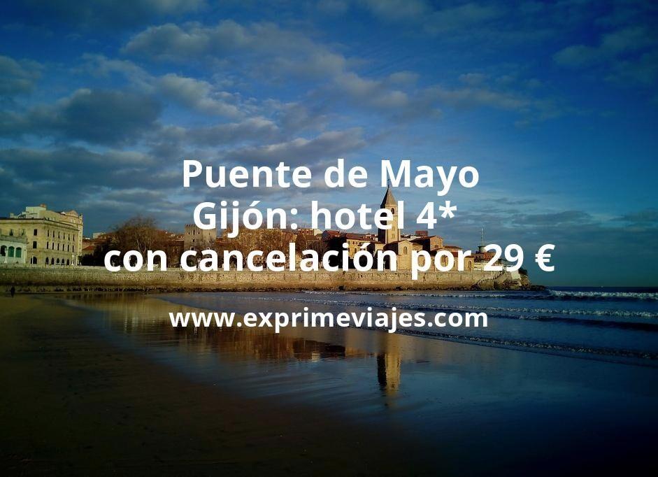 Puente Mayo en Gijón: Hotel 4* con cancelación por 29€ p.p/noche
