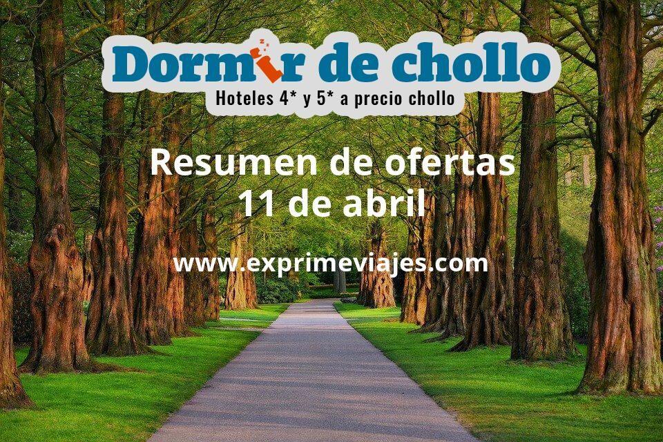 Resumen de ofertas de Dormir de Chollo – 11 de abril