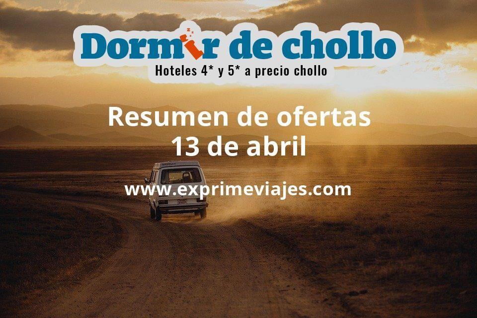 Resumen de ofertas de Dormir de Chollo – 13 de abril
