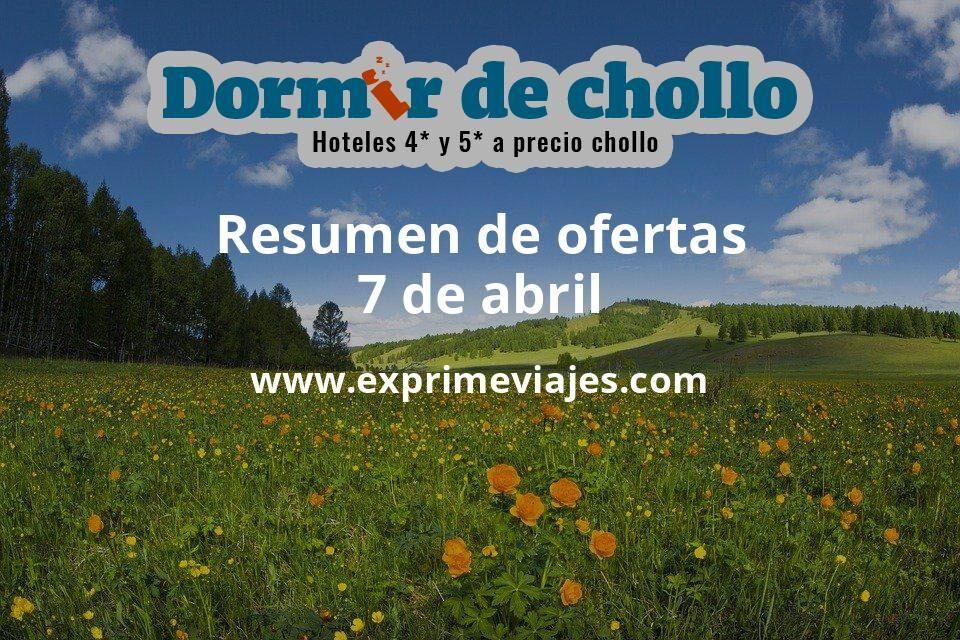 Resumen de ofertas de Dormir de Chollo – 7 de abril