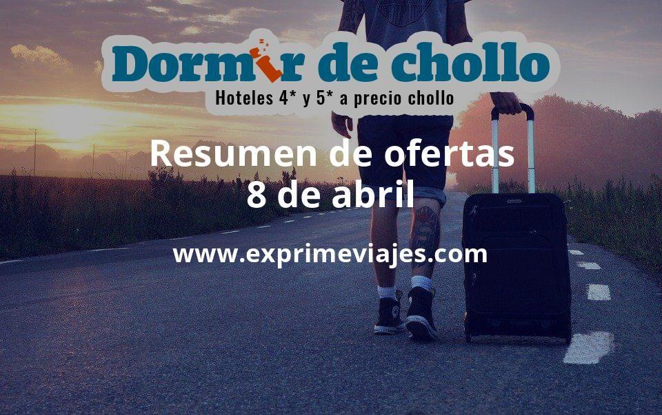 Resumen de ofertas de Dormir de Chollo – 8 de abril