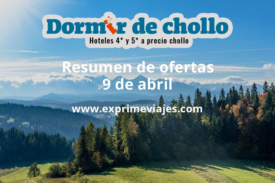 Resumen de ofertas de Dormir de Chollo – 9 de abril