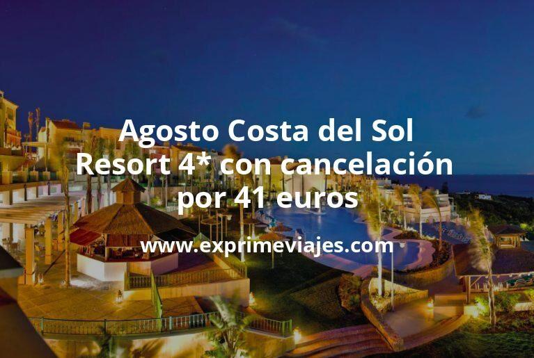Agosto Costa del Sol: Resort 4* con cancelación por 41€ p.p/noche
