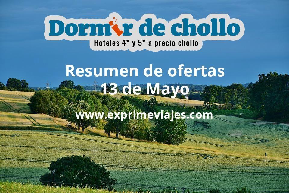 Resumen de ofertas de Dormir de Chollo – 13 de mayo