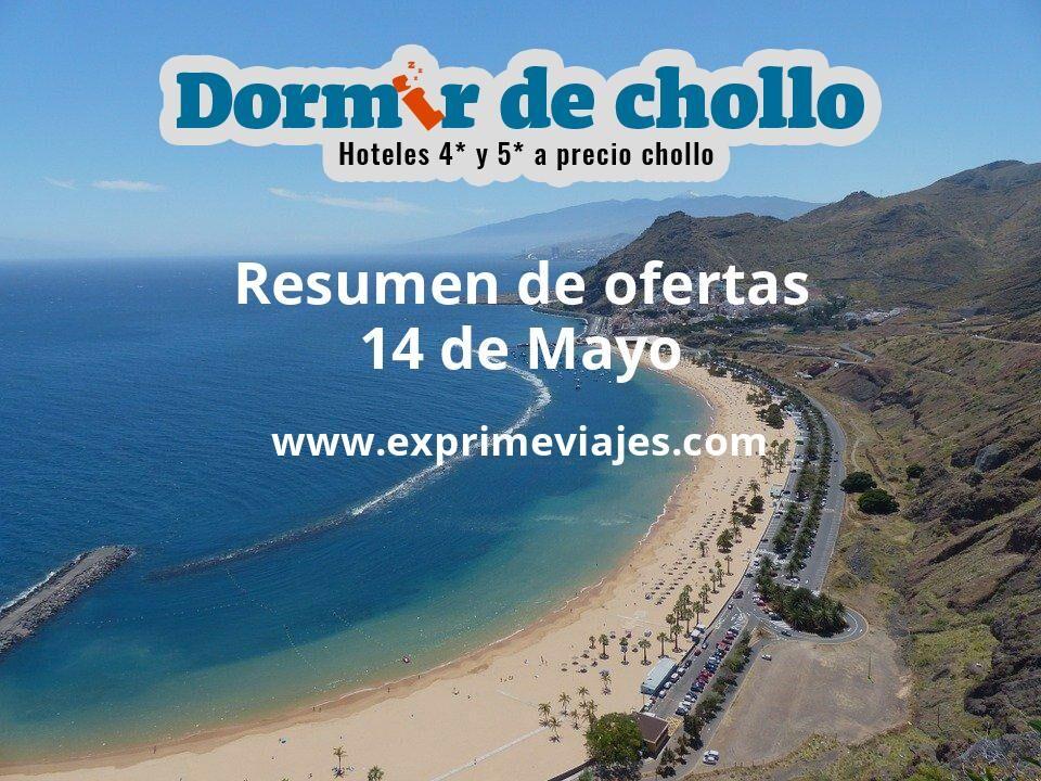 Resumen de ofertas de Dormir de Chollo – 14 de mayo