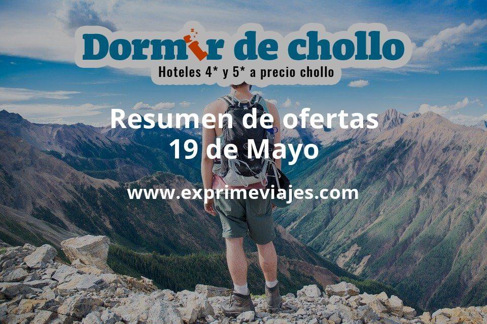 Resumen de ofertas de Dormir de Chollo – 19 de mayo