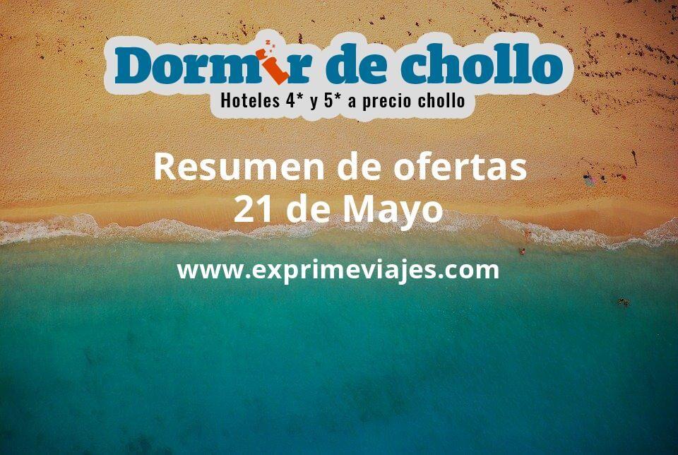Resumen de ofertas de Dormir de Chollo – 21 de mayo