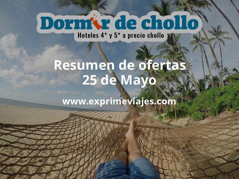 Resumen de ofertas de Dormir de Chollo – 25 de mayo