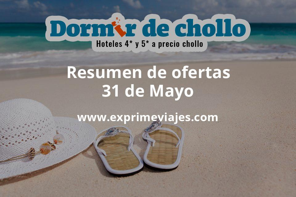 Resumen de ofertas de Dormir de Chollo – 31 de mayo