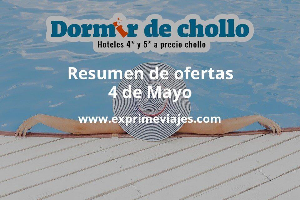 Resumen de ofertas de Dormir de Chollo – 4 de mayo