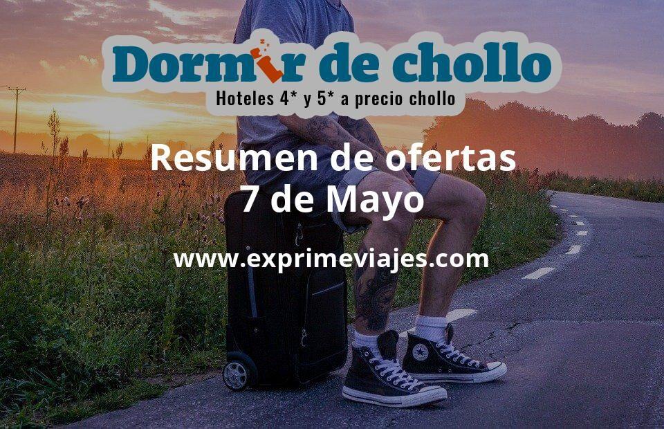 Resumen de ofertas de Dormir de Chollo – 7 de mayo