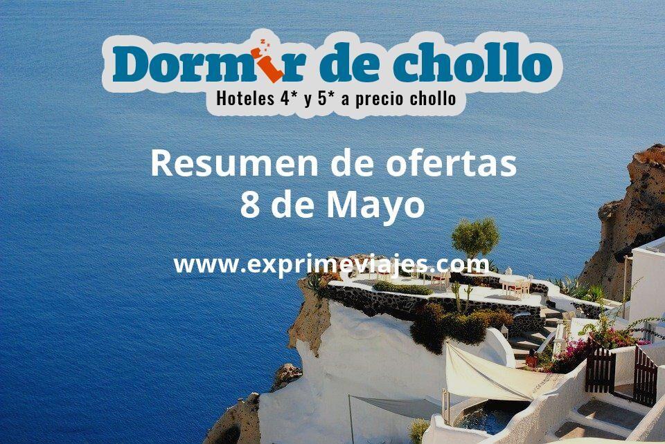 Resumen de ofertas de Dormir de Chollo – 8 de mayo
