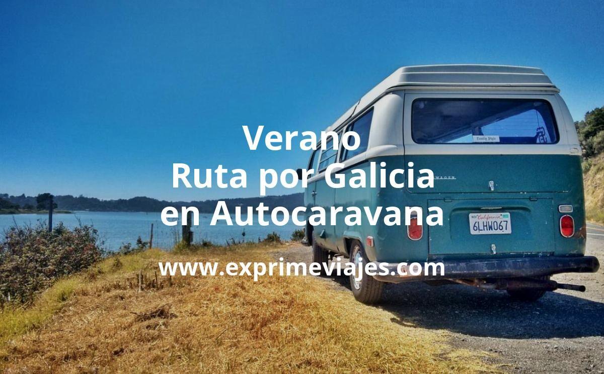 Este verano, ruta en autocaravana por Galicia