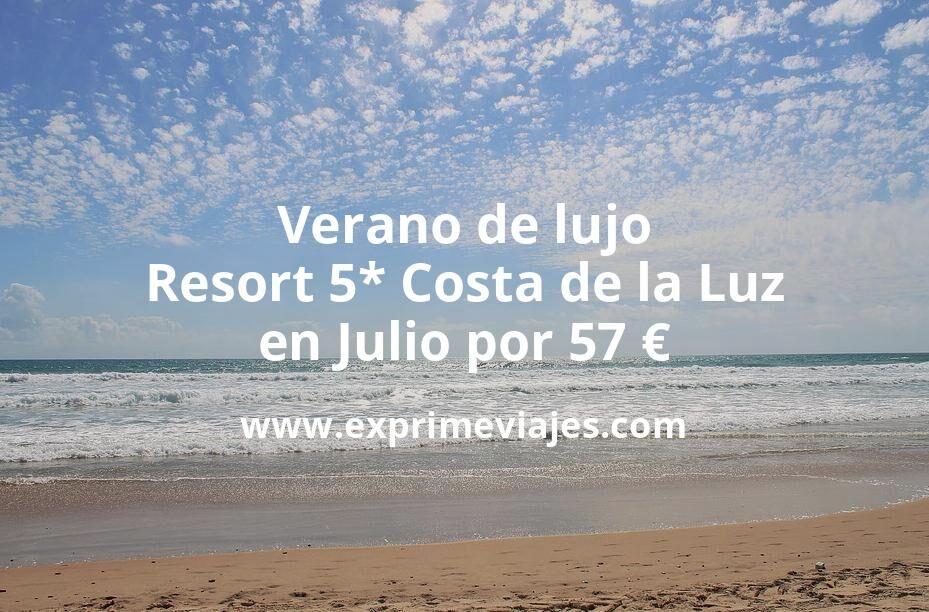 Verano de lujo: Resort 5* Costa de la Luz en Julio por 57€ p.p/noche