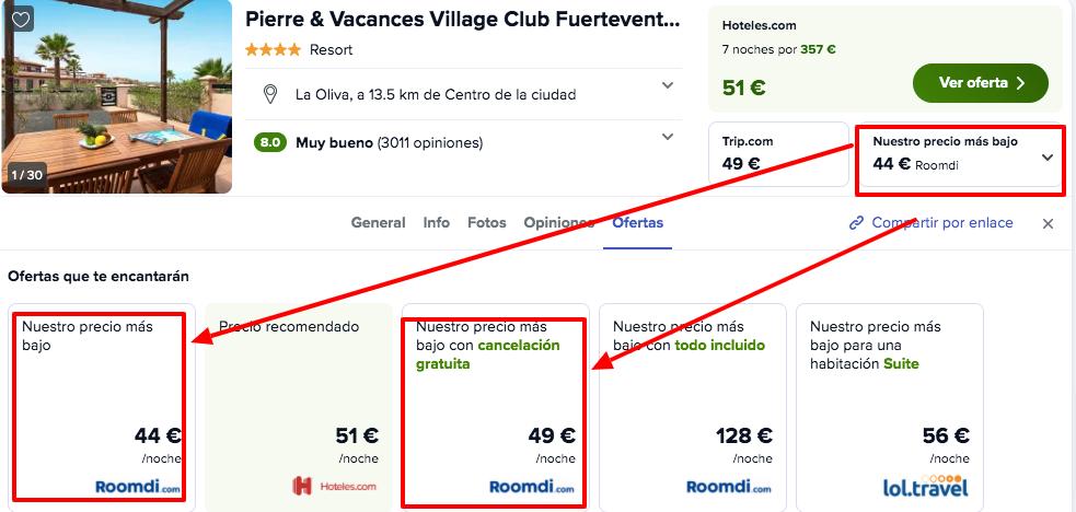 chollo resort fuerteventura
